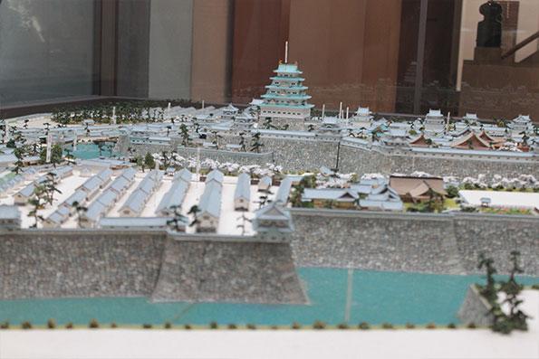 Maquette Samurai Hideyoshi Toyotomi Authentique